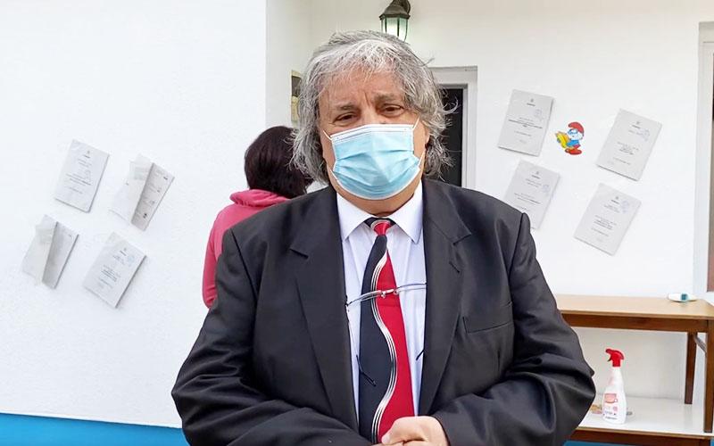 [VIDEO] Primarul Francisc Boldea a votat pentru un al patrulea mandat la conducerea Lugojului