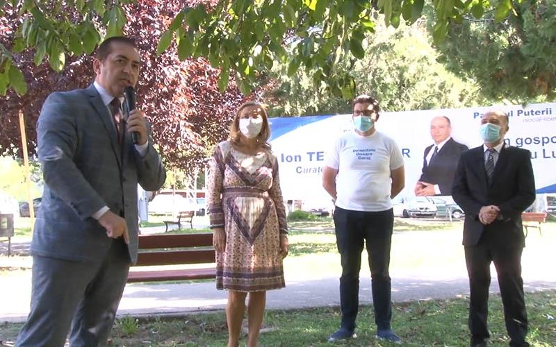 [VIDEO] Caravana umaniștilor a poposit la Lugoj, pentru susținerea candidatului PPU-SL, Ion Teca