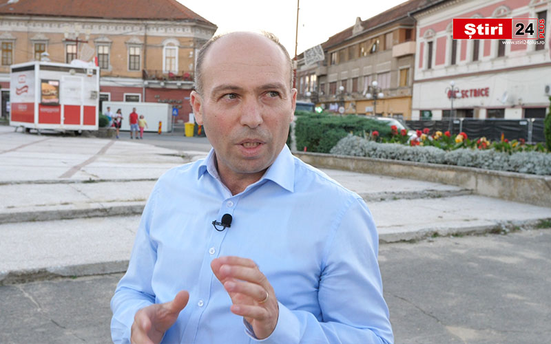 VIDEO Reportaj Știri24 PLUS cu Ion Teca – Candidat PPU-SL la funcția de Primar la Lugoj