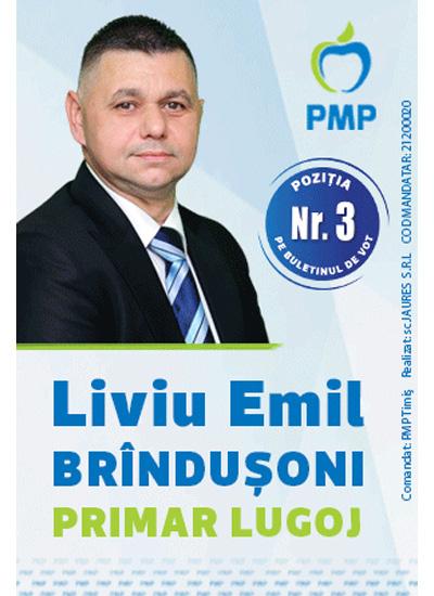 Liviu Brandusoni candidat la functia de Primar in Lugoj