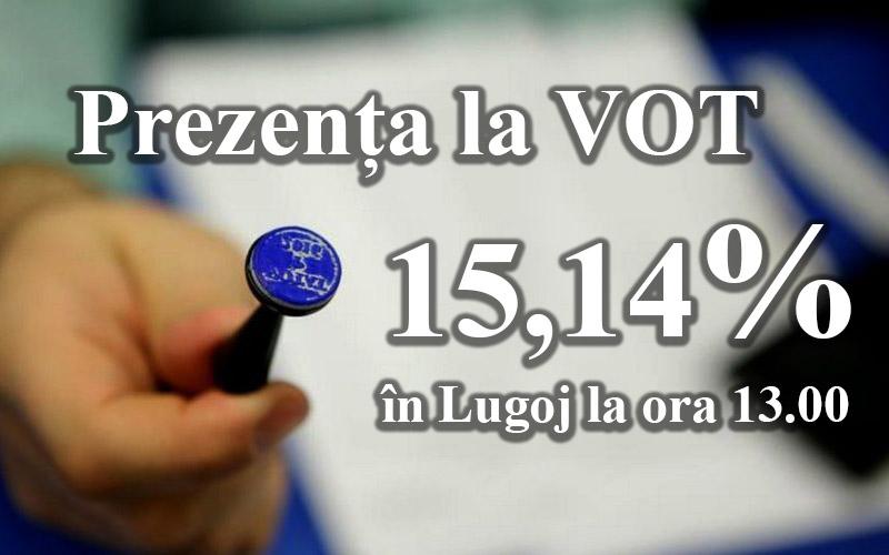 În Lugoj se votează deja de mai bine de 6 ore, la alegerile pentru primar și consiliu local, dar și pentru consiliu județean și președintele acestuia.