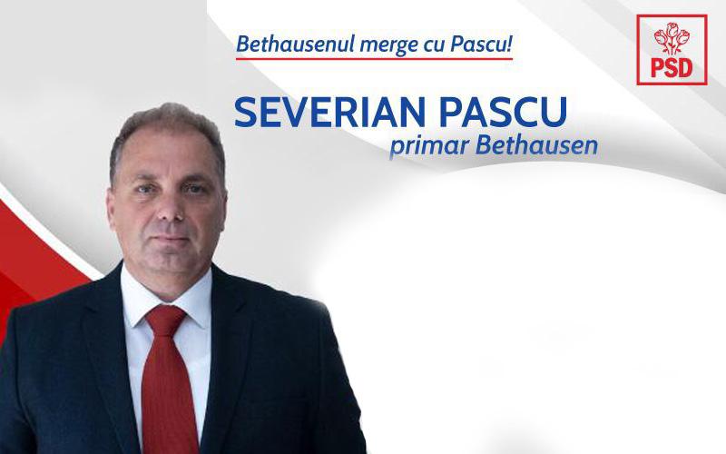 Severian Pascu are planuri mari pentru Bethausen