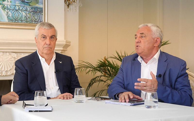 VIDEO-INTERVIU, Călin Popescu Tăriceanu confirmă cele mai recente sondaje care îl clasează pe Titu Bojin la câteva procente de câștigarea președinției Consiliului Județean
