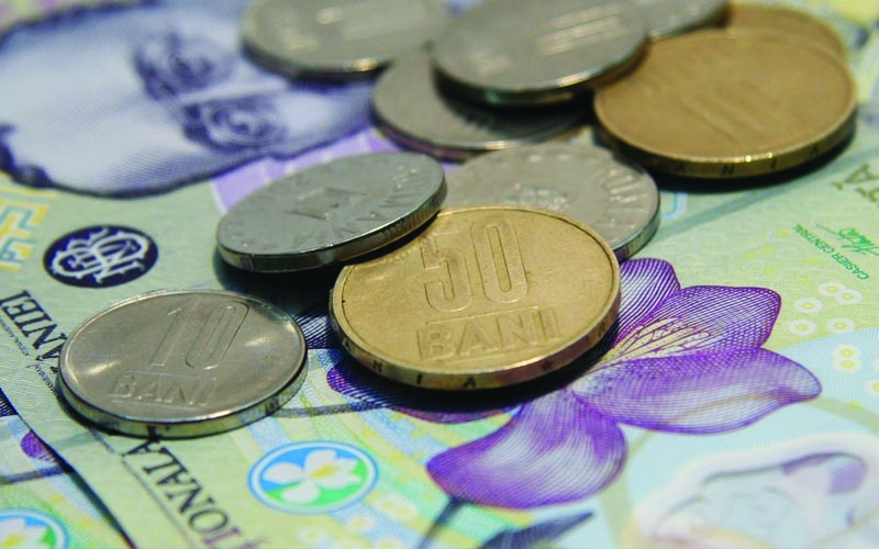 Salariu mediu net a crescut cu 74 de lei în luna iulie
