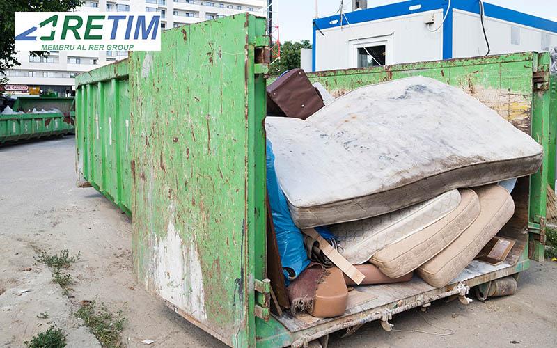 Deșeurile voluminoase din zona 0 a județului Timiș pot fi predate gratuit la containerele speciale RETIM