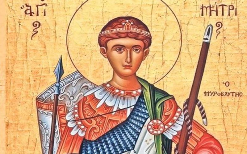 Sfântul Cuvios Dimitrie: Peste 315.000 de români îşi sărbătoresc astăzi onomastica