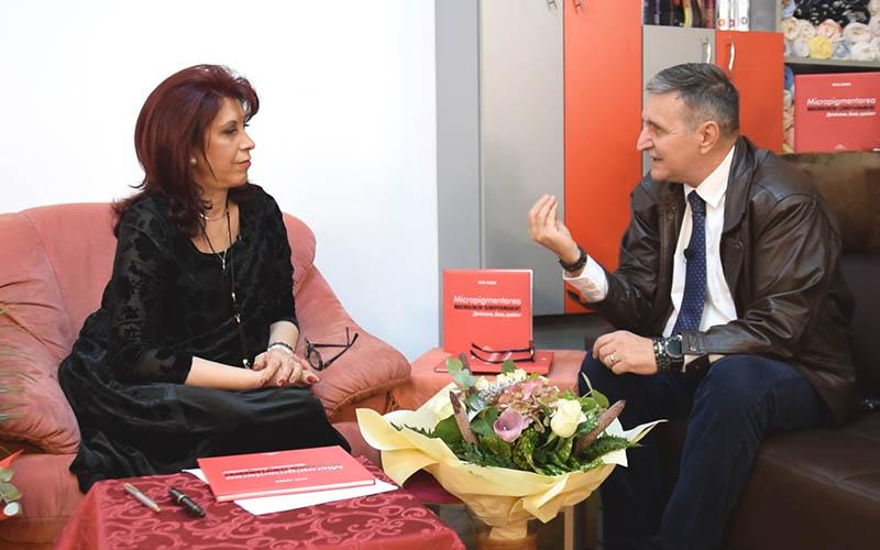 [VIDEO] Interviu cu Geta Sanda – Manager al SANDRIA, Academia Artei Înfrumusețării Timișoara