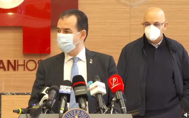 Ludovic Orban: Perioada de carantinare va fi menţinută la 14 zile.