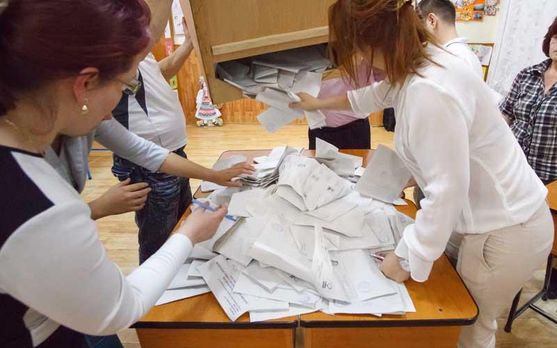 Rezultatele la alegerile parlamentare, după numărarea a 99% din voturi.