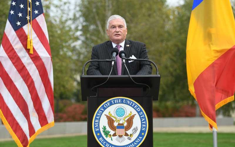 Final de mandat pentru ambasadorul SUA în România, Adrian Zuckerman