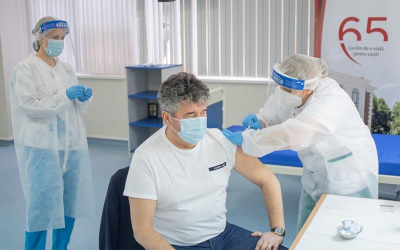 Situația vaccinărilor în ultimele 24 de ore in județul Timiș.