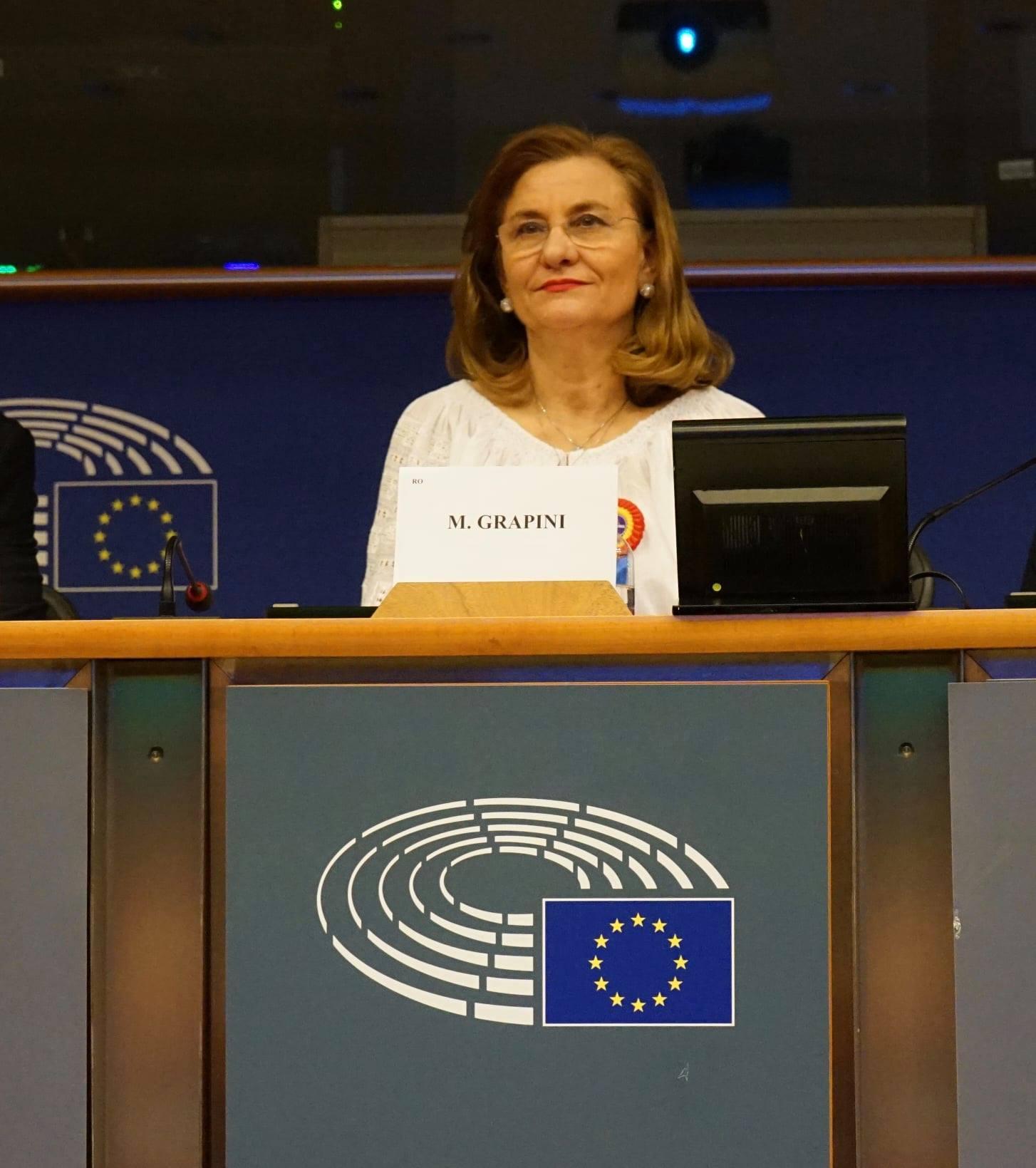 """Succes al europarlamentarului Maria Grapini: """"Regulamentul Vama"""" a fost aprobat de PE"""