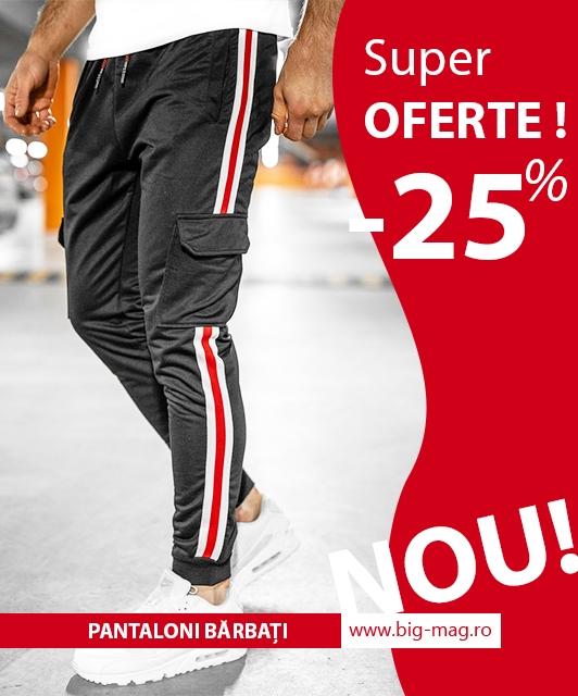 pantaloni barbati magazin big mag