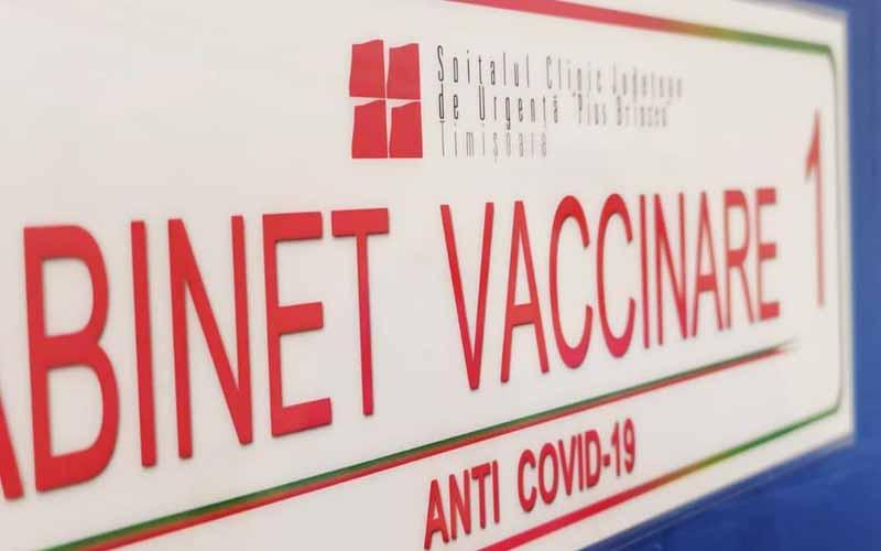 Vaccinare și pe timpul nopții la centrul permanent de la Spitalul Județean din Timișoara