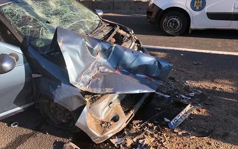 [FOTO] Accident mortal în vestul țării.