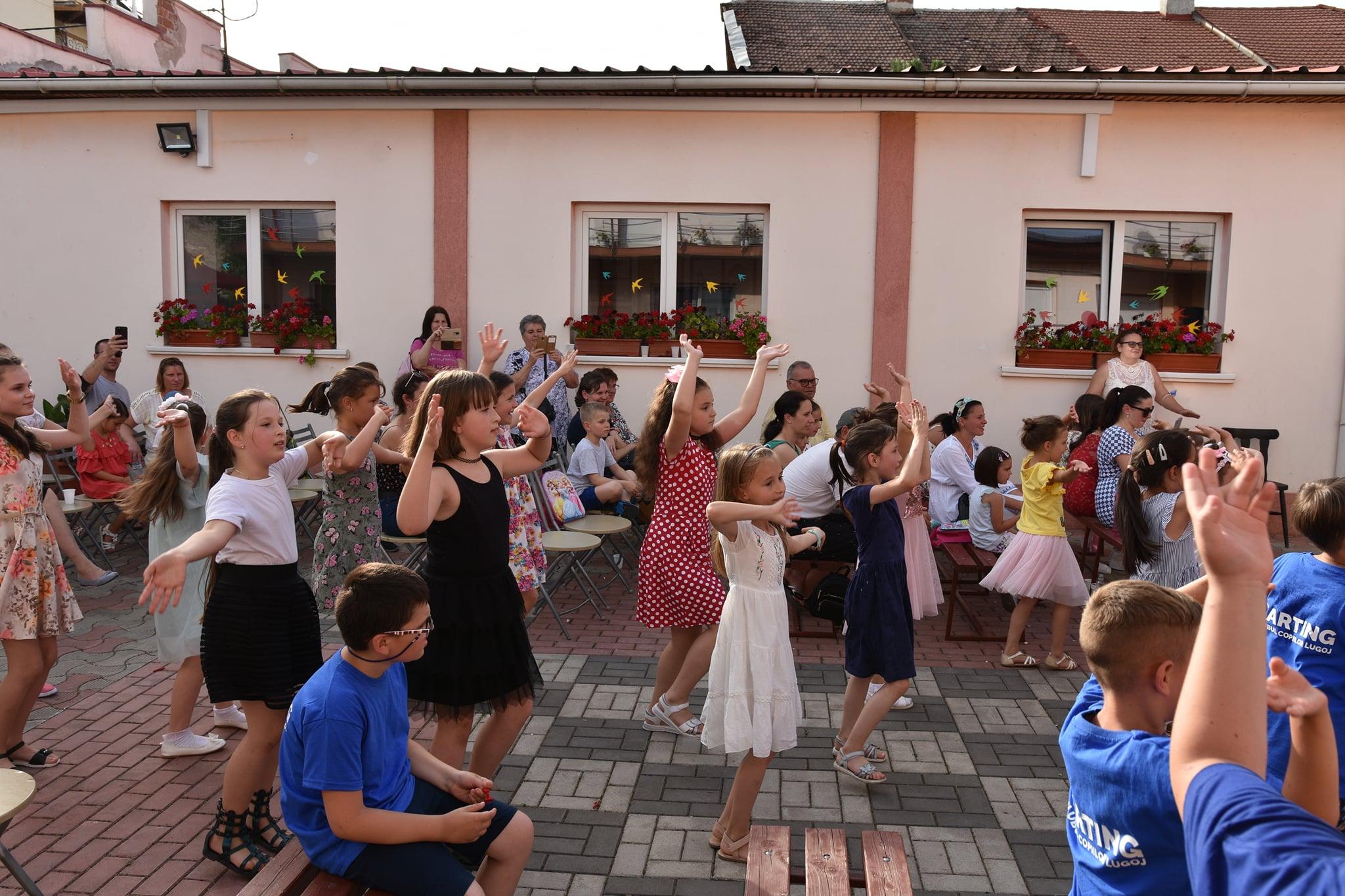 Clubul Copiilor Lugoj, Activ Summer programul pe perioada vacanței de vară