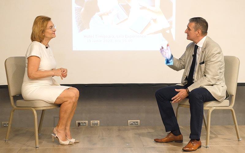 Interviu cu Maria Grapini la Stiri24 PLUS, Timisoara 19 Iunie 2021