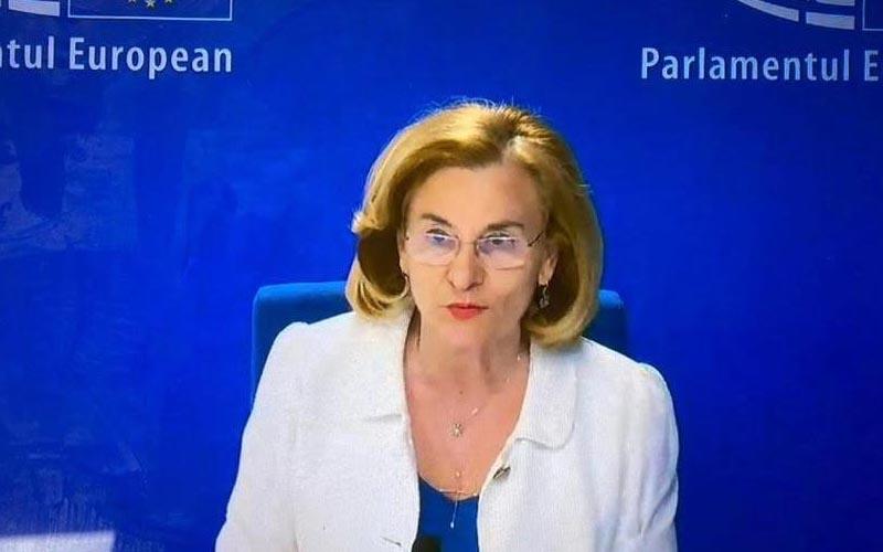 Eurodeputatul PPU (s-l), Maria Grapini, intervenție fermă în timpul dezbaterilor privind raportul BEI: