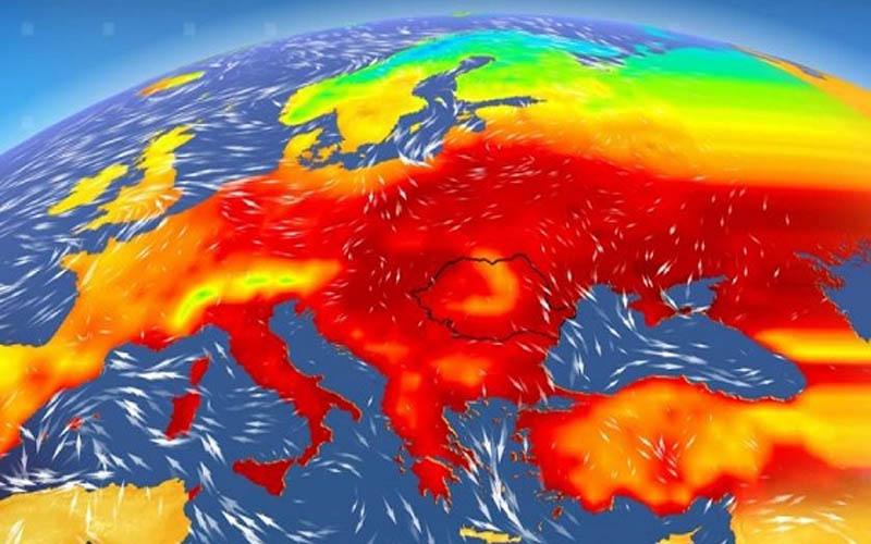 Temperaturi mai ridicate decât cele normale în următoarele 4 săptămâni.
