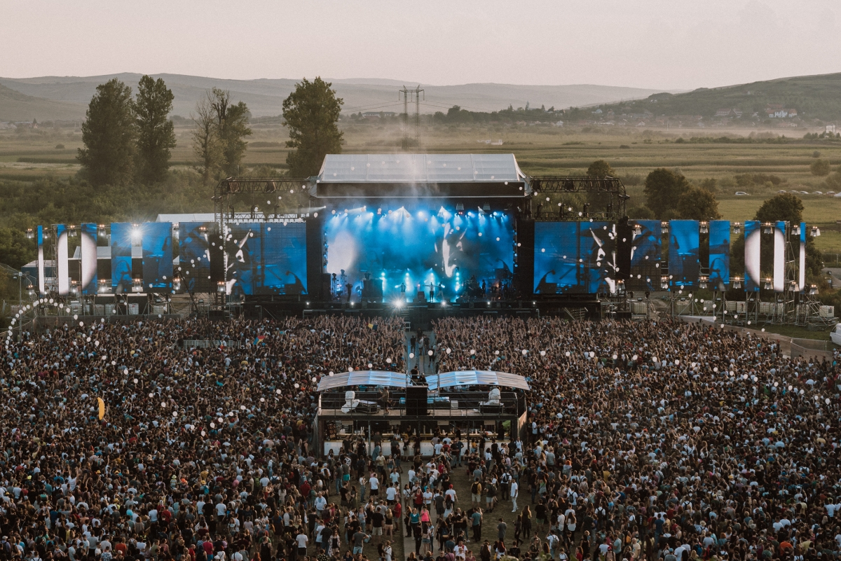 Începe festivalul Electric Castle