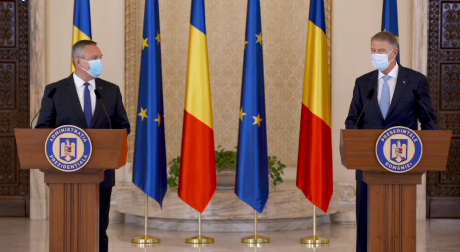 [VIDEO] Nicolae Ciucă – premierul desemnat de președintele Klaus Iohannis